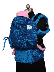 Standard Soft Structured Carrier - Blue Bloom