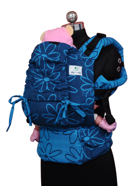 Preschool Soft Structured Carrier - Blue Bloom