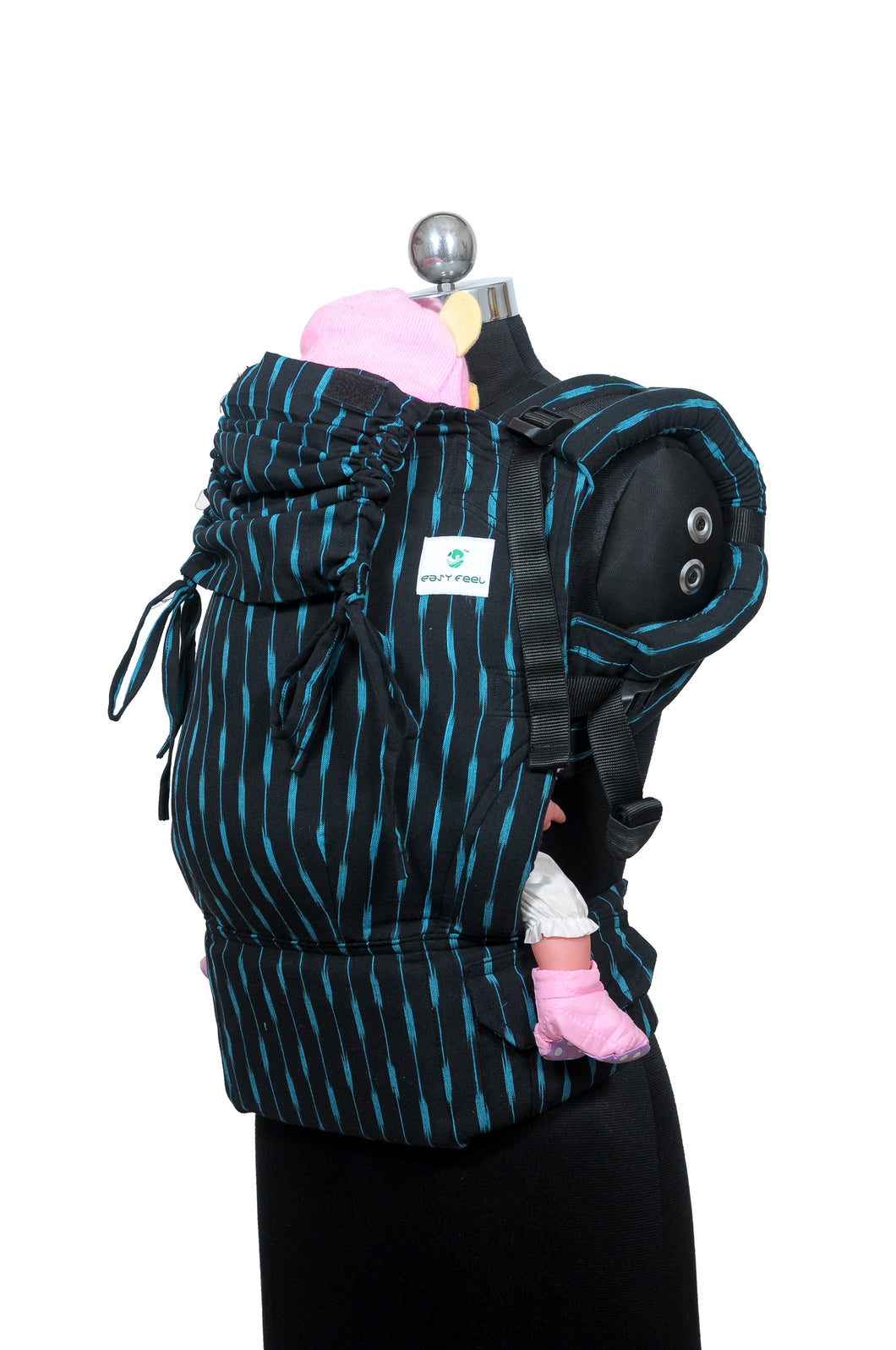 Preschool Wrap Converted Soft Structured Carrier - Charcoal