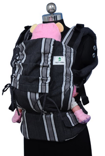 Preschool Soft Structured Carrier - Coal Stripes