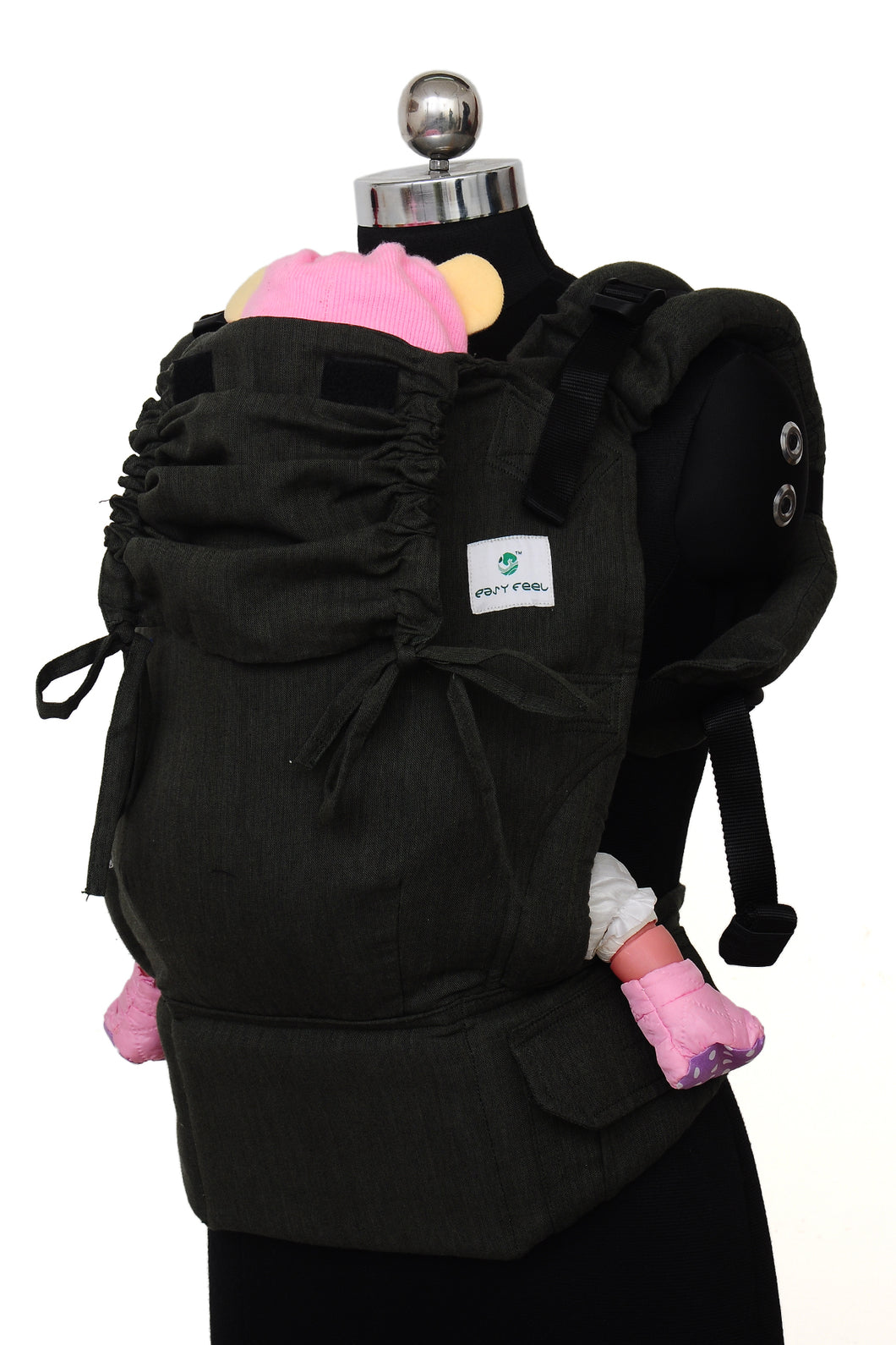 Toddler Soft Structured Carrier - Coal