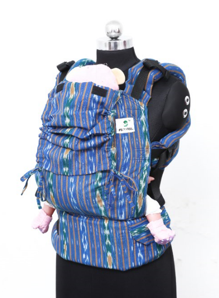 Toddler Wrap Converted Soft Structured Carrier - Cobalt Stark