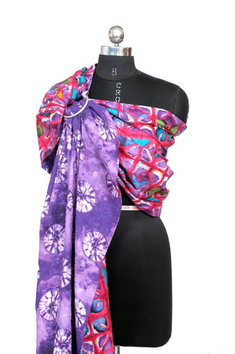 Double Layered Ring Sling (Orchid)