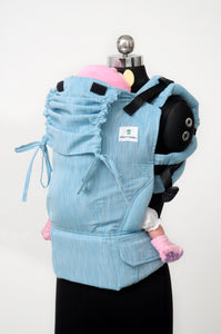 Easy Feel Full Buckle Ergonomic Soft Structured Carrier (Preschool Size) - Dazzle
