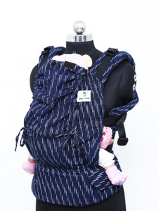 Toddler Wrap Converted Soft Structured Carrier - Downpour