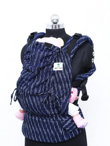 Standard Wrap Converted Soft Structured Carrier - Downpour