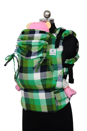 Easy Feel Full Buckle Ergonomic Soft Structured Carrier (Preschool Size) - Fern