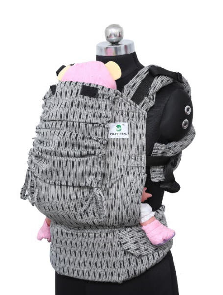 Toddler Wrap Converted Soft Structured Carrier - Granite
