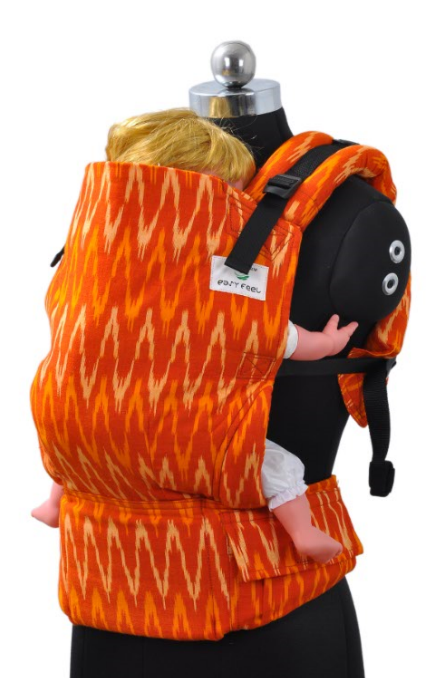 Toddler Wrap Converted Soft Structured Carrier - Autumn Blaze