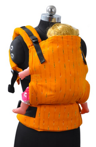 Toddler Wrap Converted Soft Structured Carrier - Soothing Sunshine