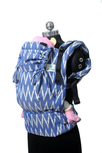 Toddler Wrap Converted Soft Structured Carrier - Indraneel