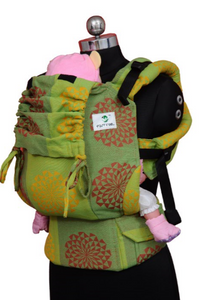 Easy Feel Full Buckle Ergonomic Soft Structured Carrier (Toddler Size) - Olive Hues