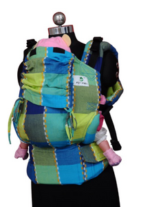 Easy Feel Full Buckle Ergonomic Soft Structured Carrier (Standard Size) - Patchwork