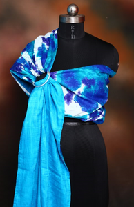 Double Layered Ring Sling (Blue Batik)