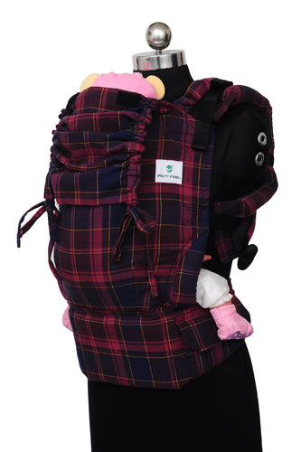 Easy Feel Full Buckle Ergonomic Soft Structured Carrier (Standard Size) - Ravish