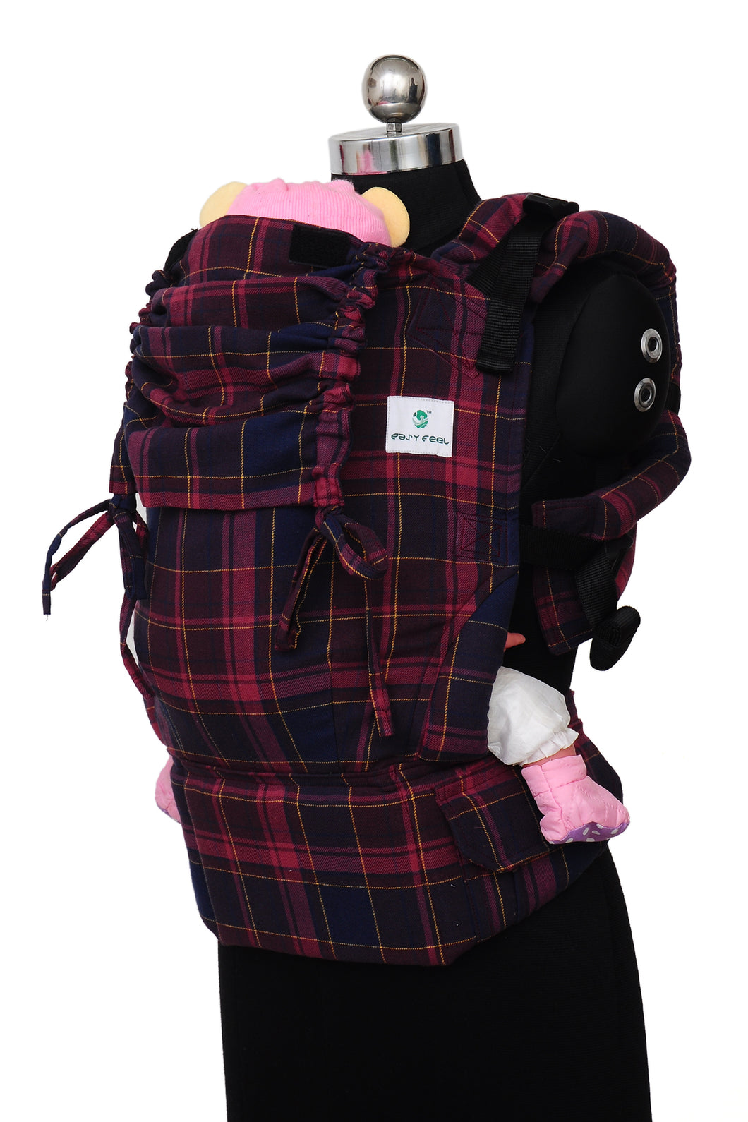 Easy Feel Full Buckle Ergonomic Soft Structured Carrier (Preschool Size) - Ravish