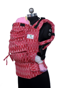 Toddler Wrap Converted Soft Structured Carrier - Roseate