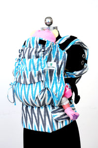 Preschool Wrap Converted Soft Structured Carrier - Sapphire V3