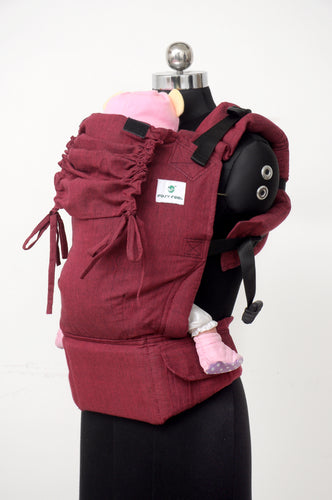 Toddler Soft Structured Carrier - Scarlet
