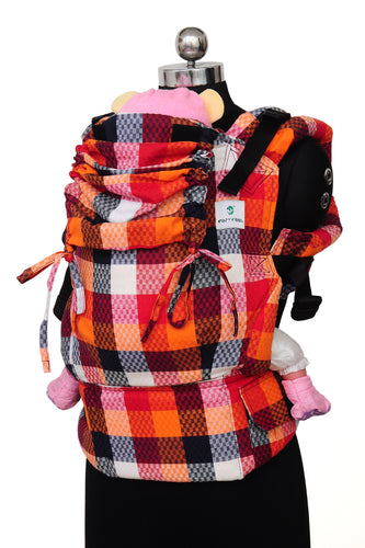 Easy Feel Full Buckle Ergonomic Soft Structured Carrier (Preschool Size) - Sensation
