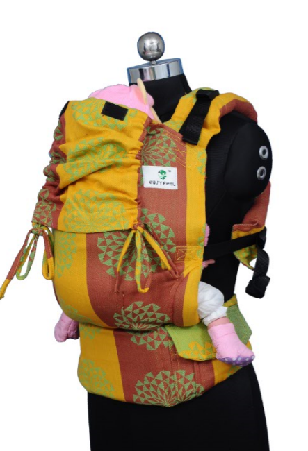Preschool Soft Structured Carrier - Sunflower
