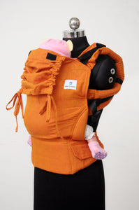 Easy Feel Full Buckle Ergonomic Soft Structured Carrier (Standard Size) - Tangerine