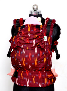 Toddler Wrap Converted Soft Structured Carrier - Terracotta