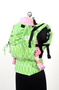 Toddler Wrap Converted Soft Structured Carrier - Verdant