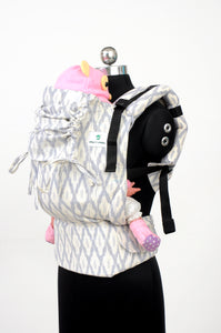 Toddler Wrap Converted Soft Structured Carrier - Elegance