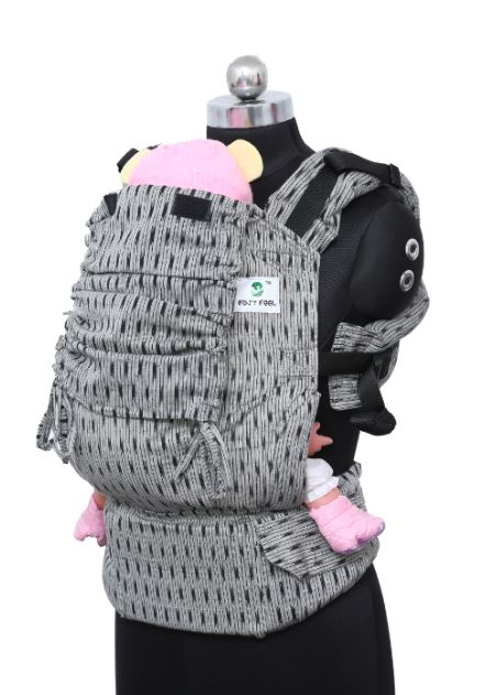 Preschool Wrap Converted Soft Structured Carrier - Granite