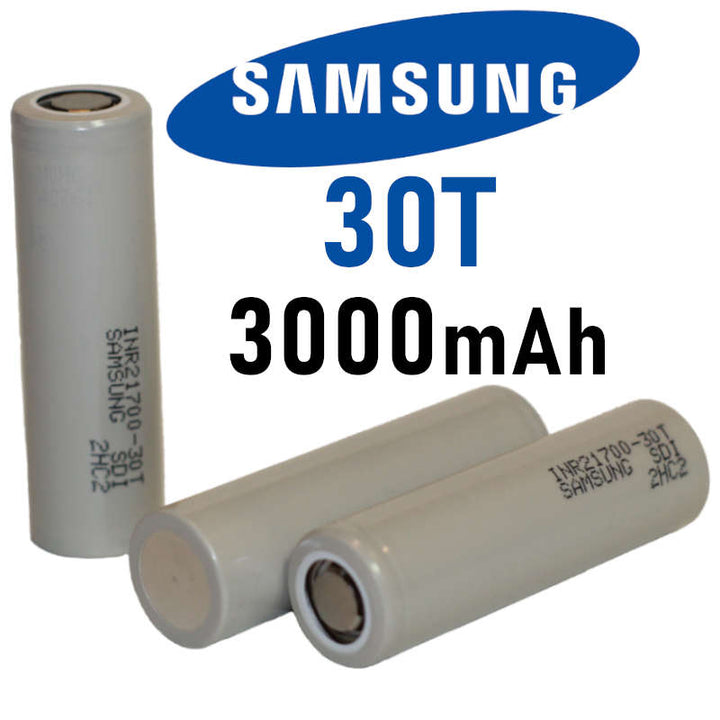 Samsung 30T 21700 Battery - 35A 3000MAH