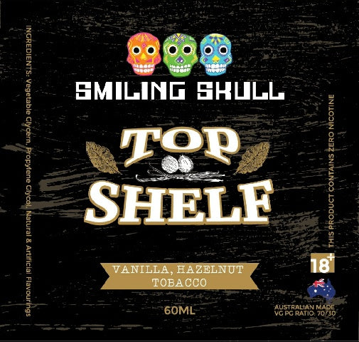 smiling Skull - Top Shelf