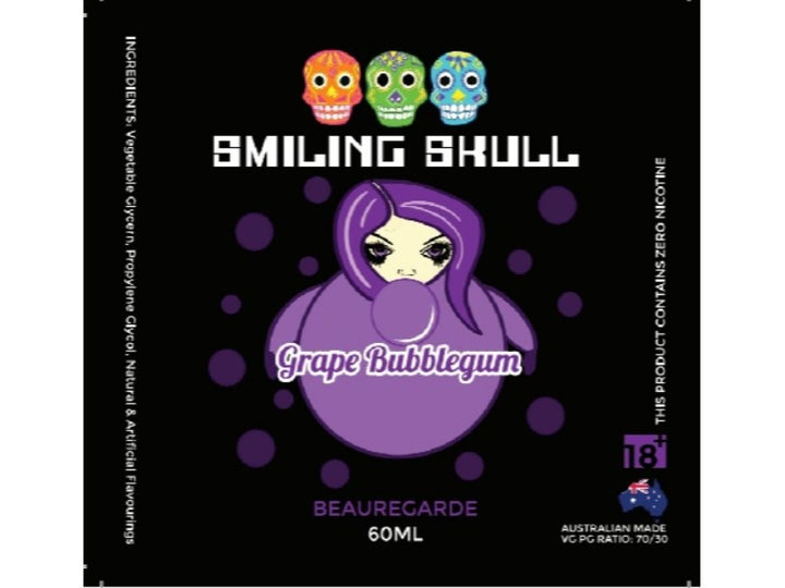 Smiling Skull- Beauregarde