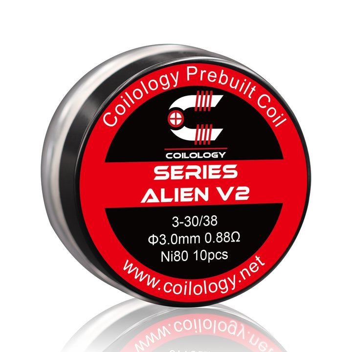 Coilology Pre-Built coil 10pcs pack