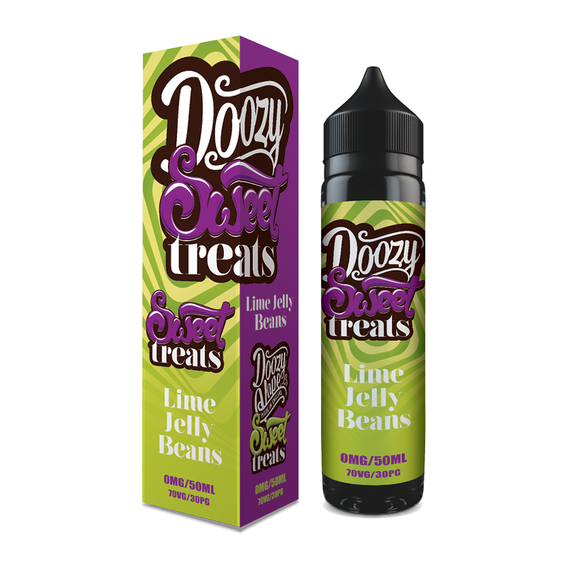 Doozy Sweet Treats | Lime Jelly Beans 60ml