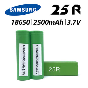 Samsung 25R 18650 battery 1pc