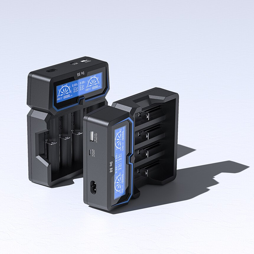 XTAR X4 BATTERY CHARGER (New Extended Version)