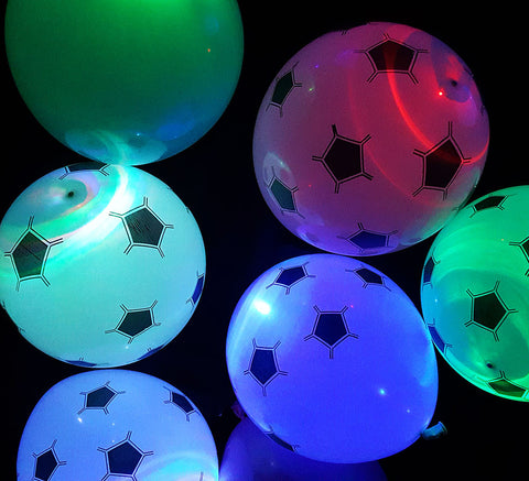 "LED Football 12"" Balloon"