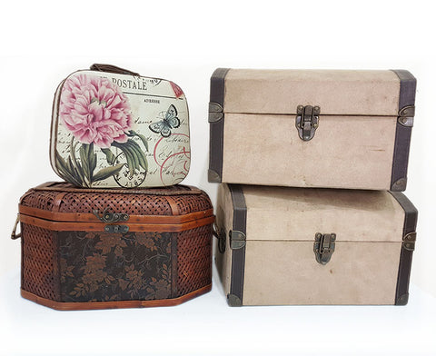 Assorted Vanity Boxes