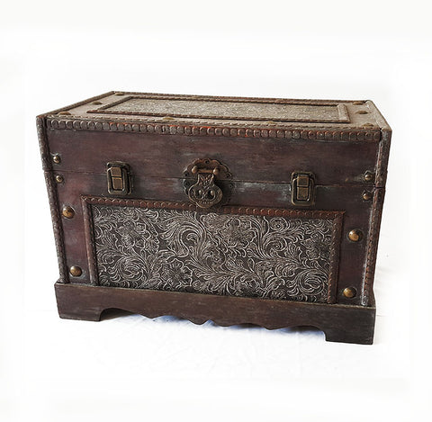 Antique Patterned Chest Box