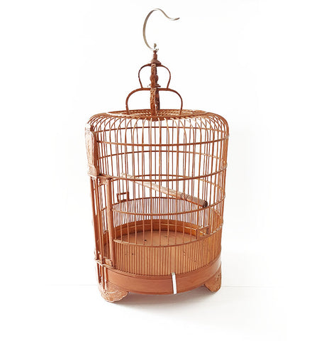 Brown Chinese Bird Cage