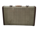 Plaid Vintage Suitcase