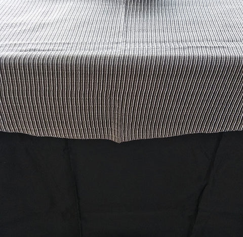 Grey Table Cloth Overlay