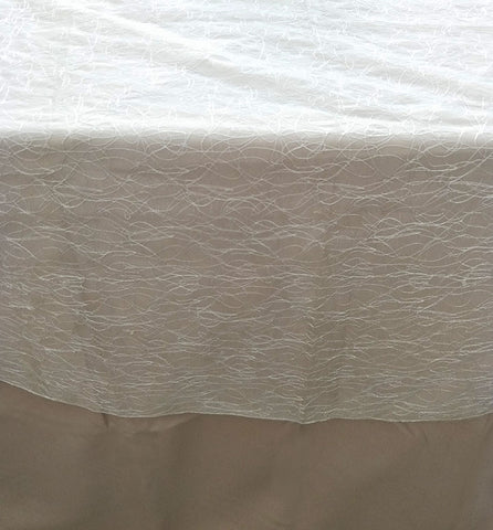 Textured Table Cloth Overlay