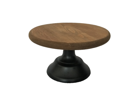 Wooden Rustic Cake Stand