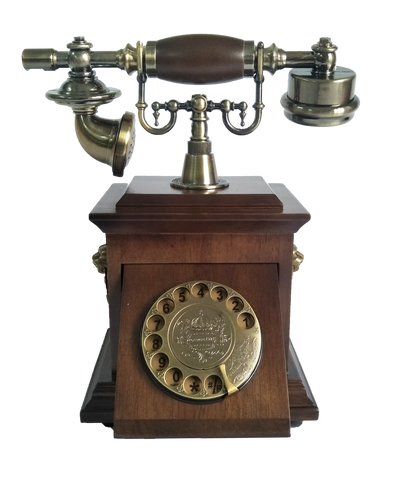 Brown Vintage Telephone