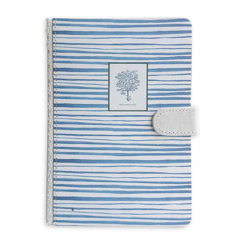 Blue Plant Horizontal Line Journal