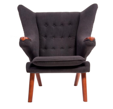 Dark Grey Arm Chair