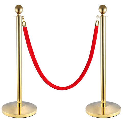 Gold Classic Queue Stand
