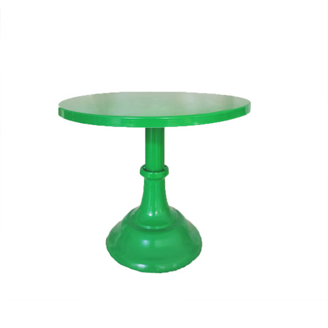 Green Metal Cake Stand